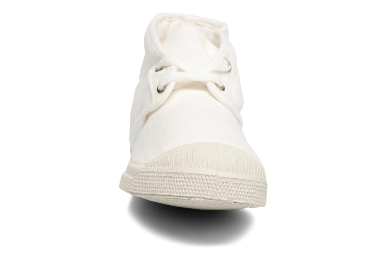 Baskets Bensimon Tennis New Nils Blanc vue portées chaussures