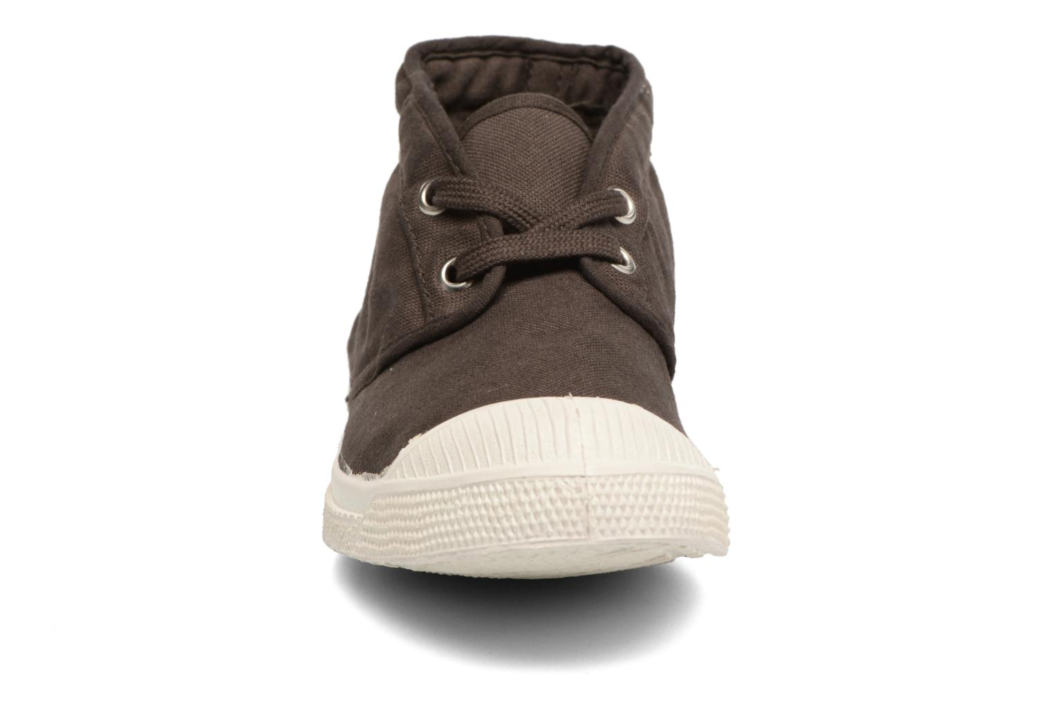 Trainers Bensimon Tennis New Nils Brown model view