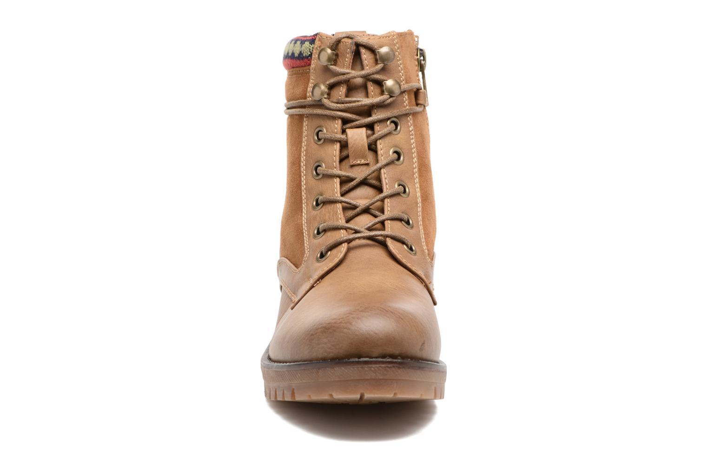 Bottines et boots Refresh Fidge Marron vue portées chaussures