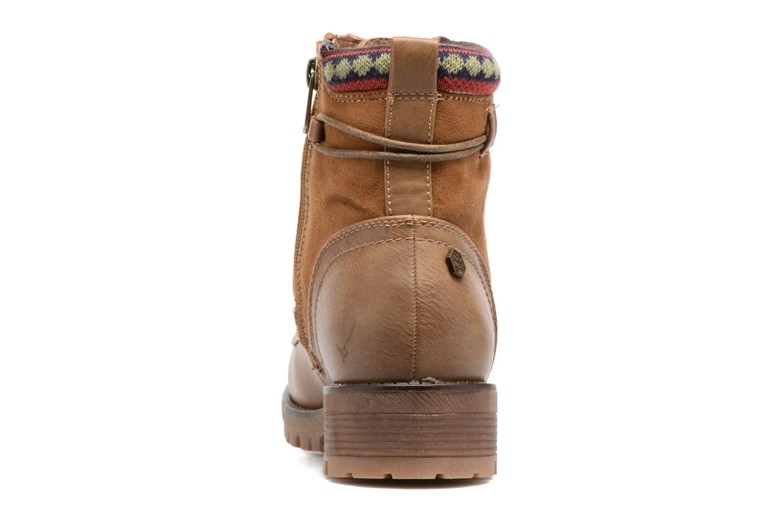 Bottines et boots Refresh Fidge Marron vue droite