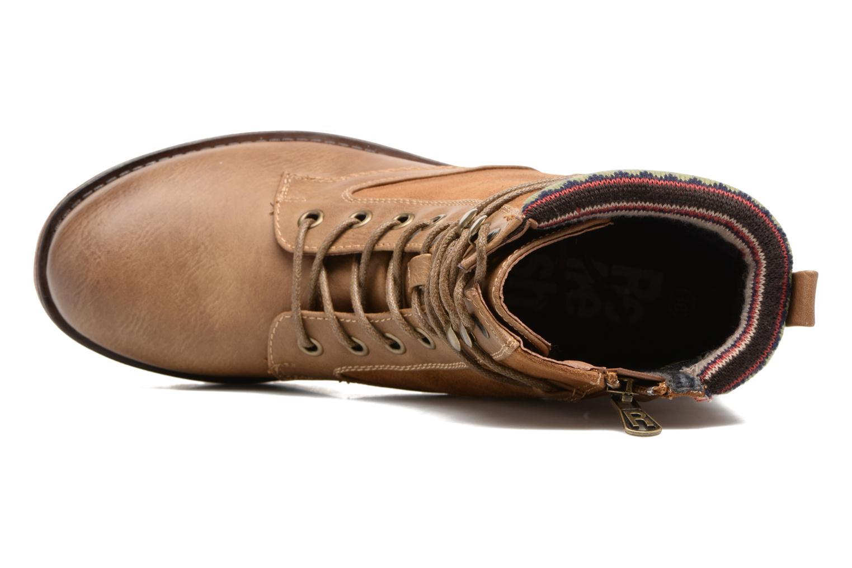 Bottines et boots Refresh Fidge Marron vue gauche