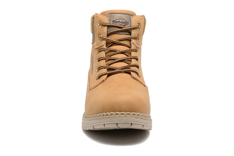 Bottines et boots Refresh Telie Marron vue portées chaussures
