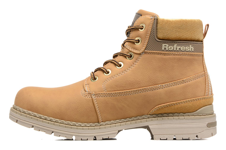 Bottines et boots Refresh Telie Marron vue face