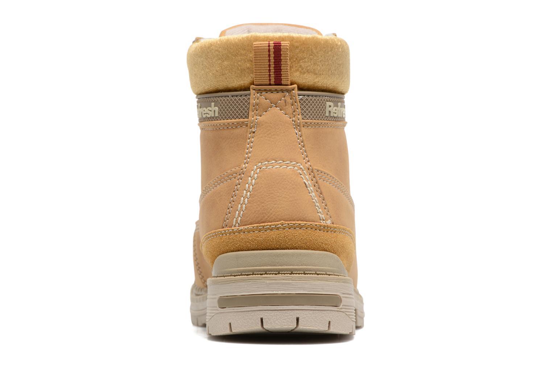 Bottines et boots Refresh Telie Marron vue droite