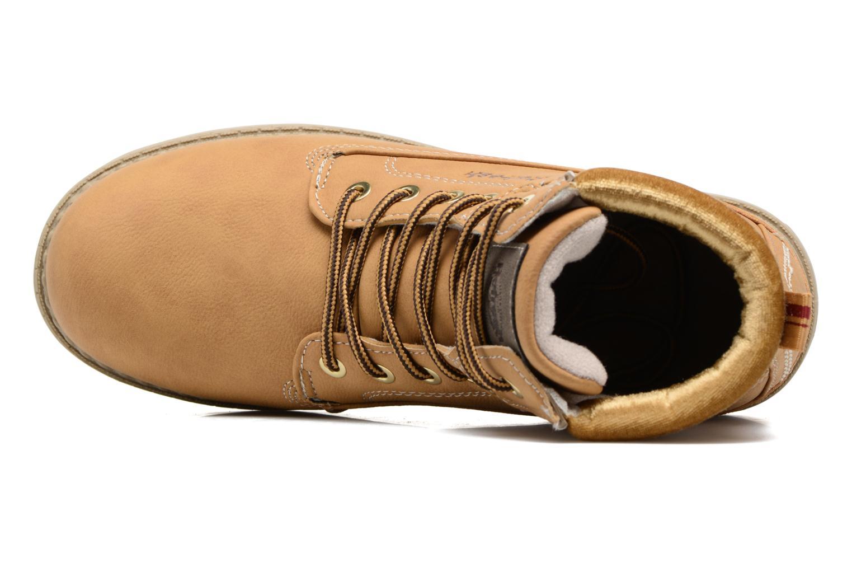Bottines et boots Refresh Telie Marron vue gauche