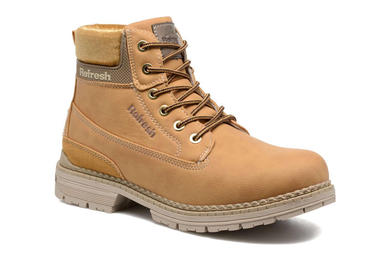 Bottines et boots Refresh Telie Marron vue détail/paire