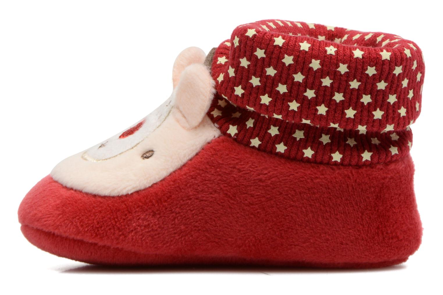 Chaussons Chicco Orbix Rouge vue face