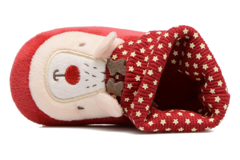 Chaussons Chicco Orbix Rouge vue gauche