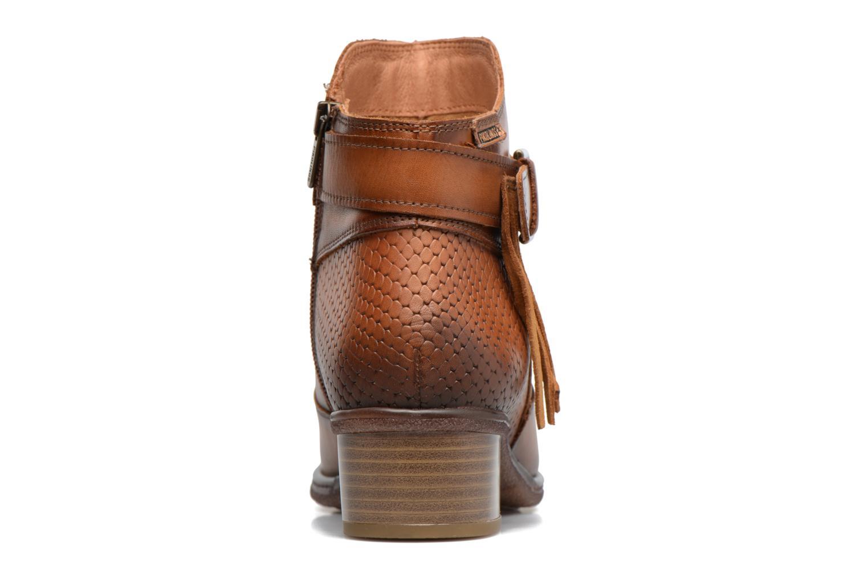 Bottines et boots Pikolinos ZARAGOZA W9H-8917 Marron vue droite