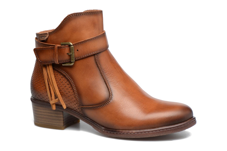 Bottines et boots Pikolinos ZARAGOZA W9H-8917 Marron vue détail/paire