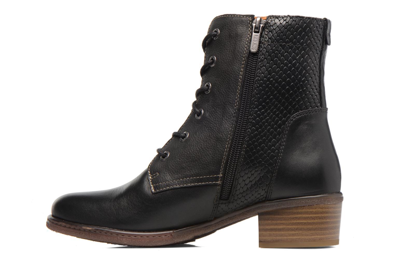 Bottines et boots Pikolinos ZARAGOZA W9H-8943 Noir vue face