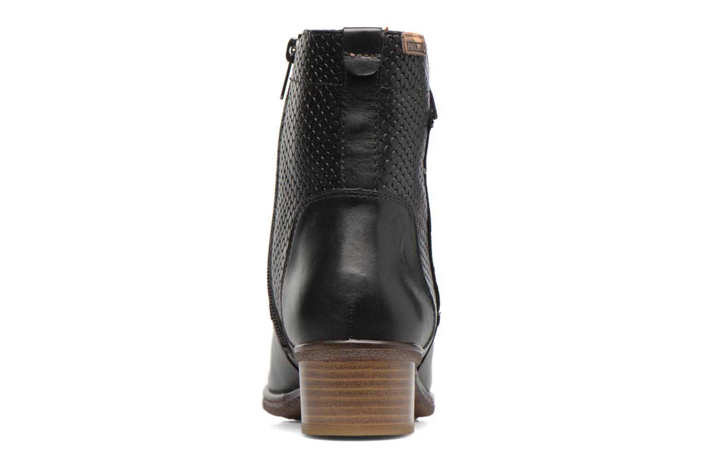 Bottines et boots Pikolinos ZARAGOZA W9H-8943 Noir vue droite