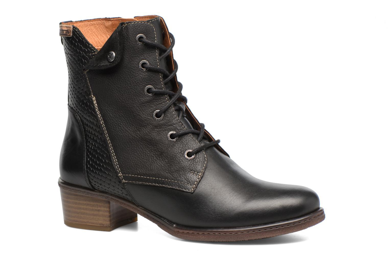 Bottines et boots Pikolinos ZARAGOZA W9H-8943 Noir vue détail/paire