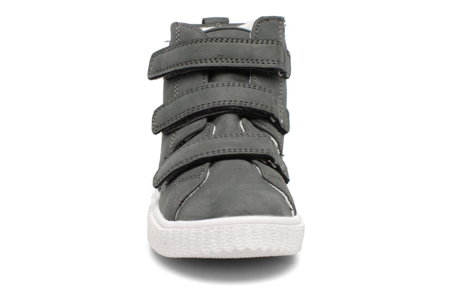 Fancy Velcro Brown grey