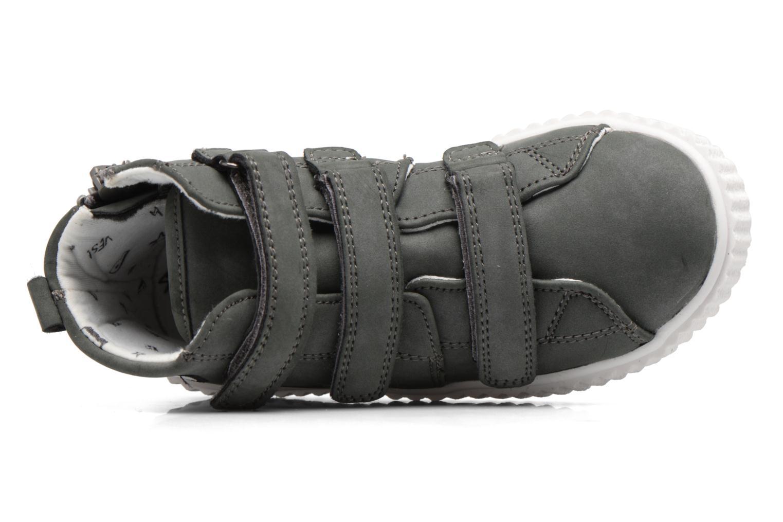 Baskets Esprit Fancy Velcro Gris vue gauche