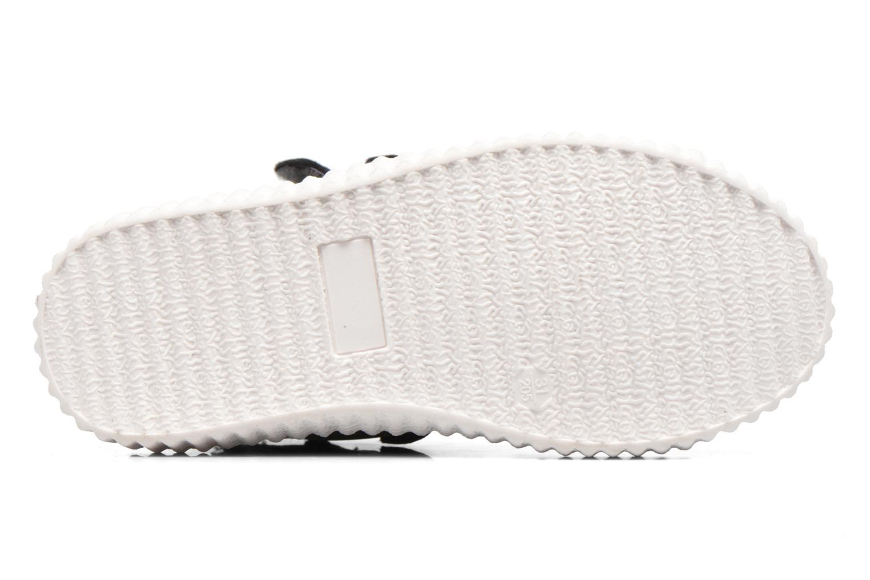Baskets Esprit Fancy Velcro Gris vue haut