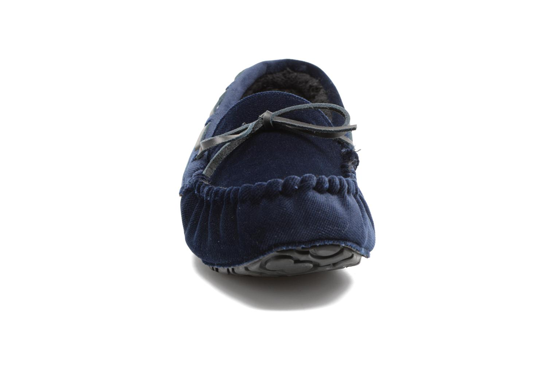 Chaussons Ruby Brown John 2 Bleu vue portées chaussures