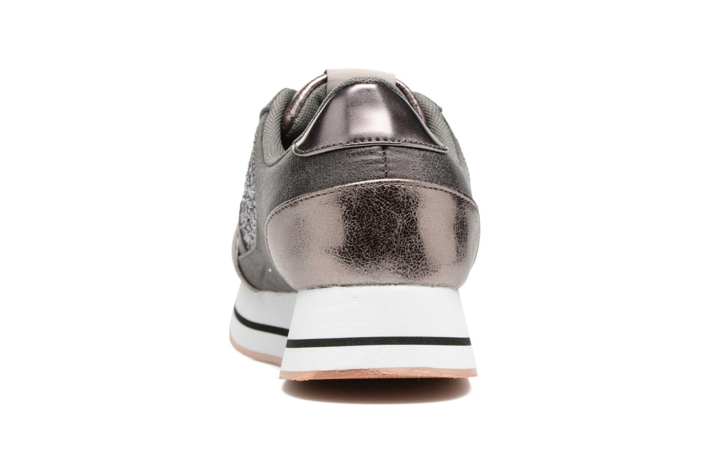 Baskets ONLY Smilla glitter sneaker Gris vue droite