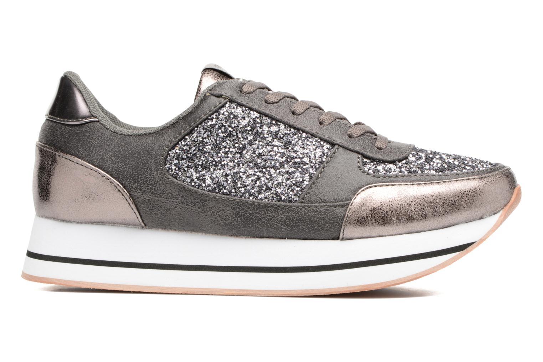 Baskets ONLY Smilla glitter sneaker Gris vue derrière