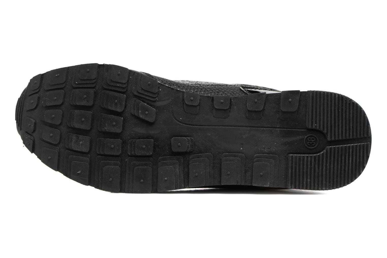 Baskets ONLY Sillie mix sneaker Noir vue haut
