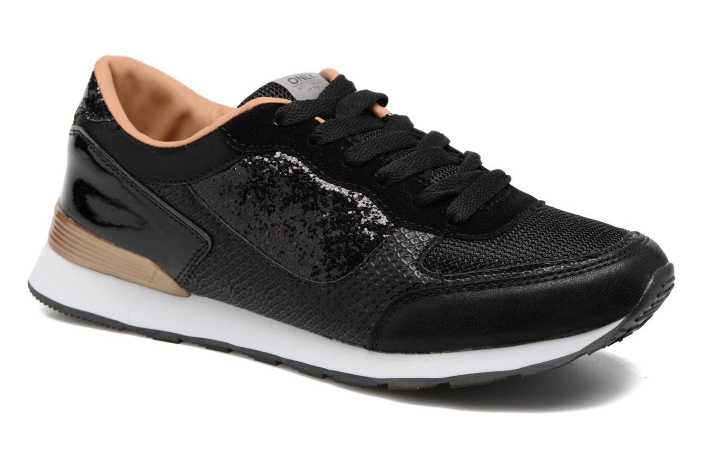 Baskets ONLY Sillie mix sneaker Noir vue détail/paire