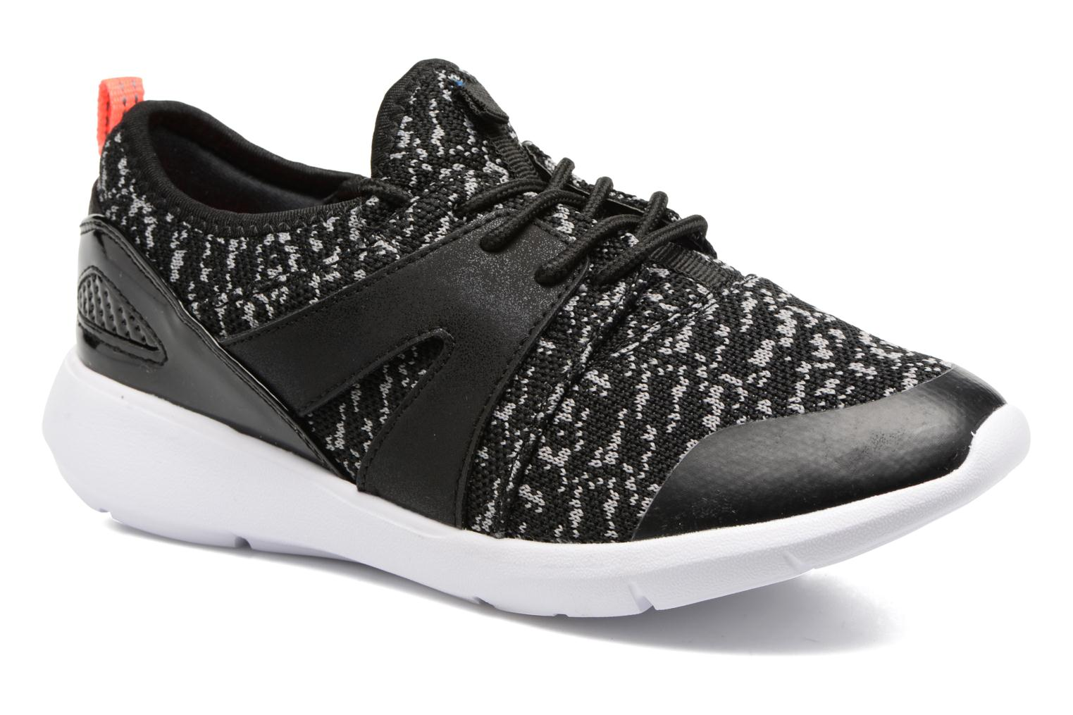 Marques Chaussure femme ONLY femme Sumba mix sneaker Black/grey