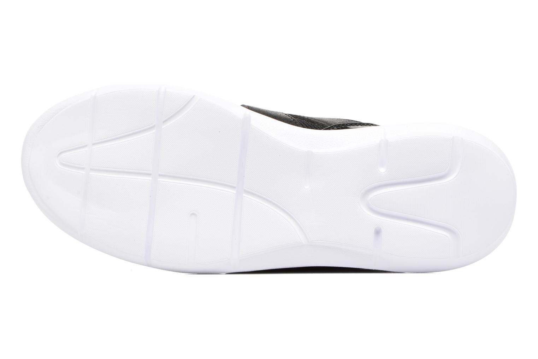 Baskets ONLY Sumba plain sneaker Noir vue haut