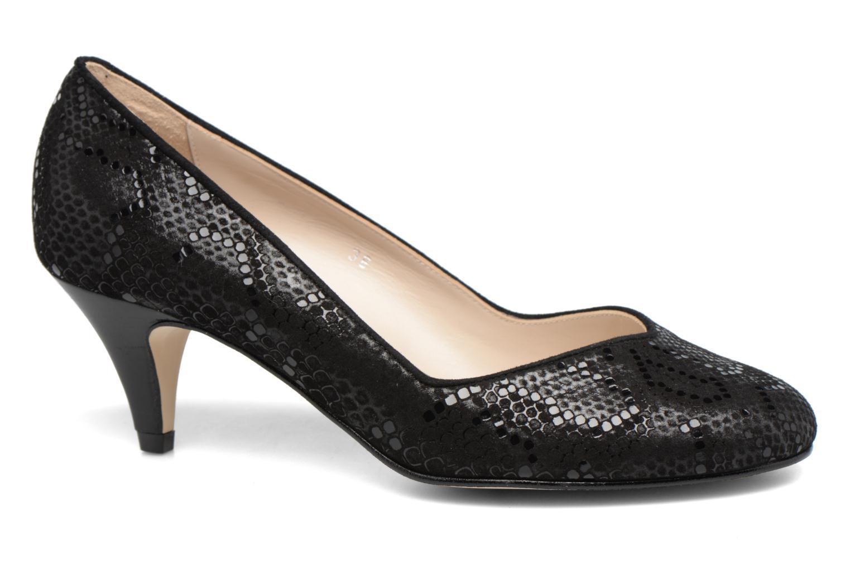 High heels Georgia Rose Eleonie Black detailed view/ Pair view