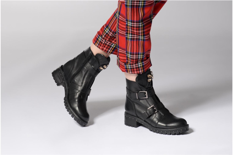 Boots en enkellaarsjes Bronx Bnewfalcox Zwart onder