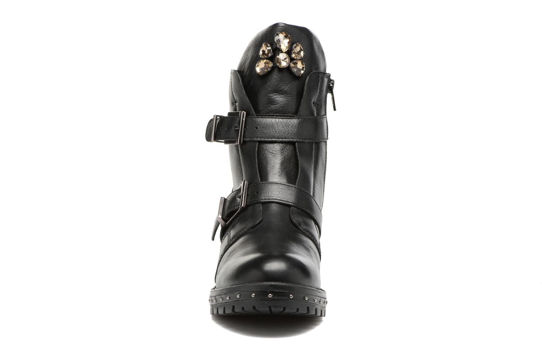 Boots en enkellaarsjes Bronx Bnewfalcox Zwart model