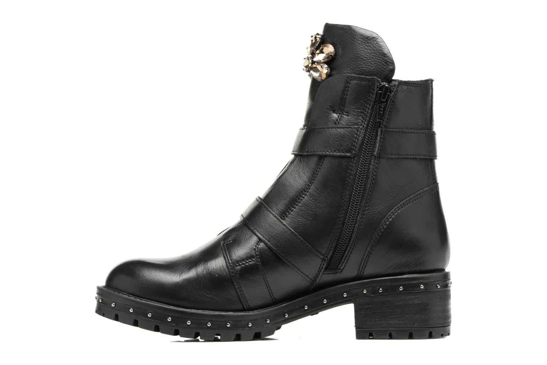 Boots en enkellaarsjes Bronx Bnewfalcox Zwart voorkant