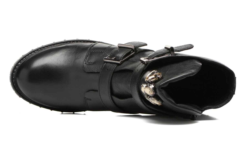 Boots en enkellaarsjes Bronx Bnewfalcox Zwart links