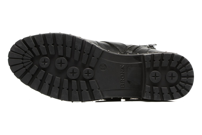 Bottines et boots Bronx Bnewfalcox Noir vue haut