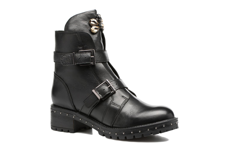 Boots en enkellaarsjes Bronx Bnewfalcox Zwart detail