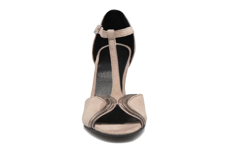 Escarpins Georgia Rose Hepomi Gris vue portées chaussures