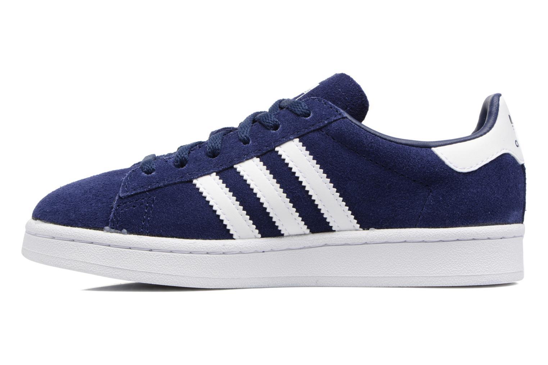 Sneakers Adidas Originals Campus C Azzurro immagine frontale