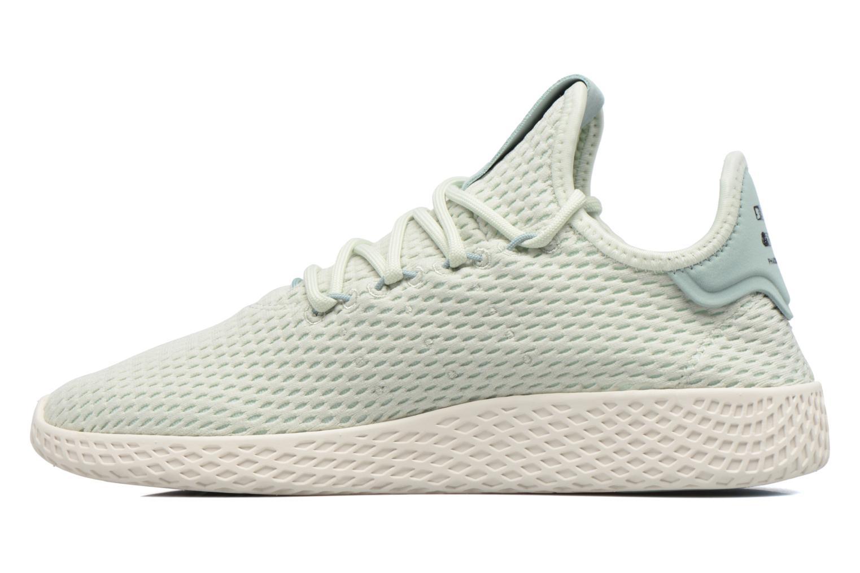 Sneakers Adidas Originals Pharrell Williams Tennis Hu J Verde immagine frontale
