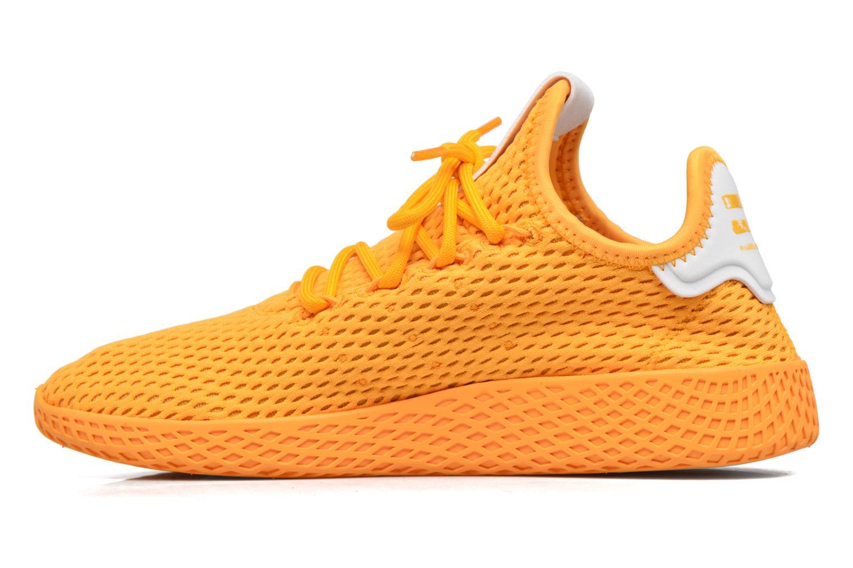 Sneakers Adidas Originals Pharrell Williams Tennis Hu J Giallo immagine frontale