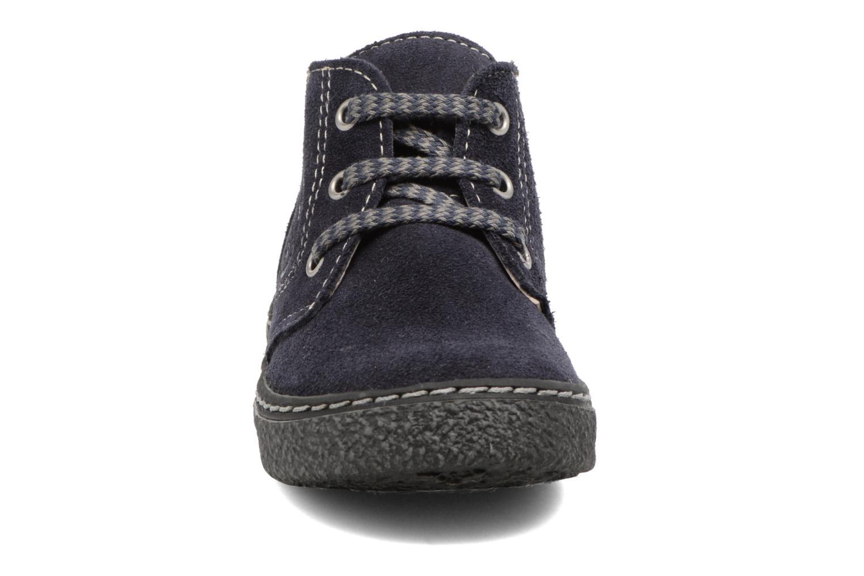 Bottines et boots Bopy British Bleu vue portées chaussures