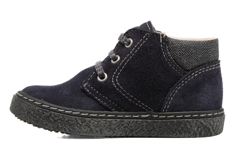 Bottines et boots Bopy British Bleu vue face