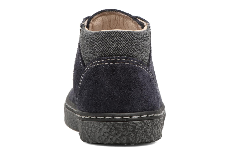 Bottines et boots Bopy British Bleu vue droite