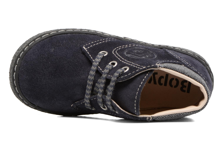 Bottines et boots Bopy British Bleu vue gauche