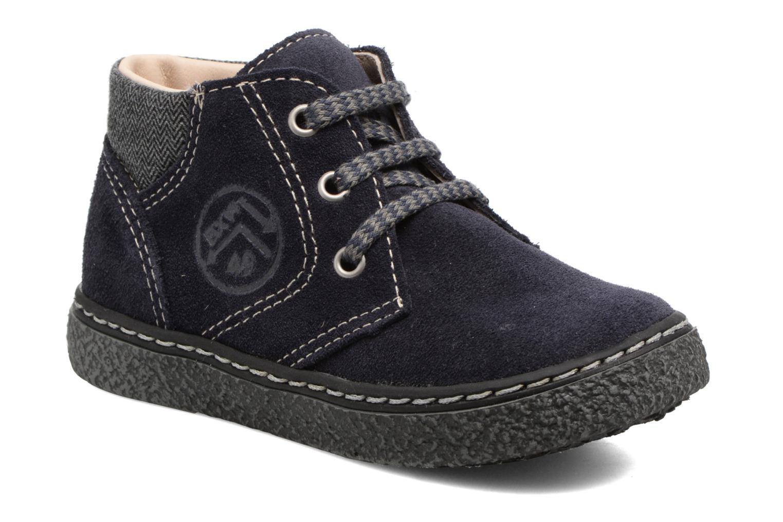 Bottines et boots Bopy British Bleu vue détail/paire