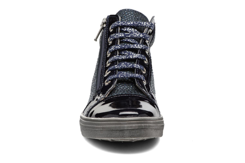 Sneakers Bopy Seulette Azzurro modello indossato