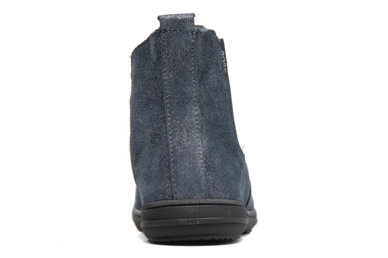 Bottines et boots Bopy Sichou Bleu vue droite
