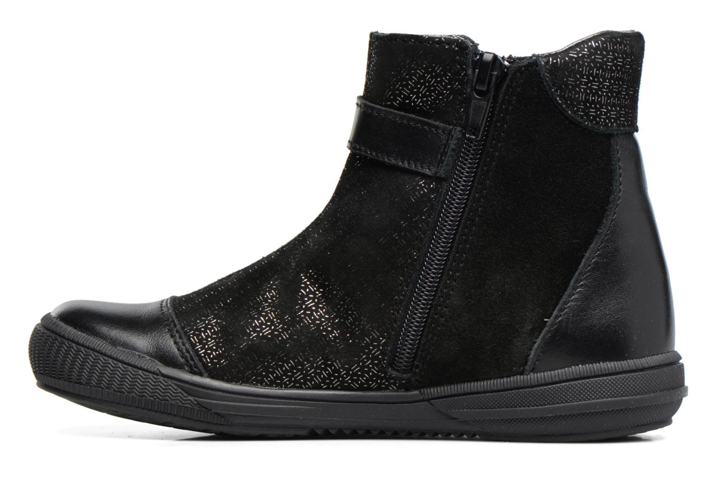 Bottines et boots Bopy Saori Noir vue face