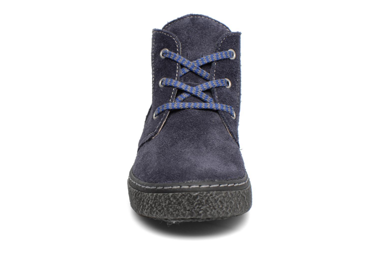Chaussures à lacets Bopy Vritish Bleu vue portées chaussures