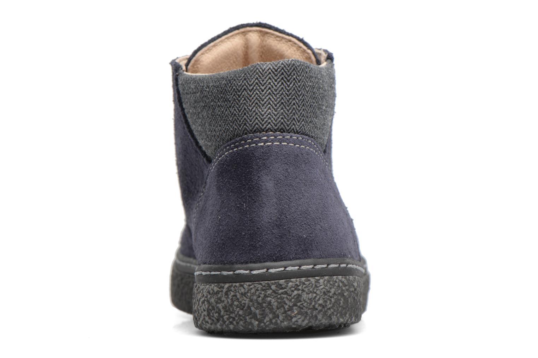 Chaussures à lacets Bopy Vritish Bleu vue droite