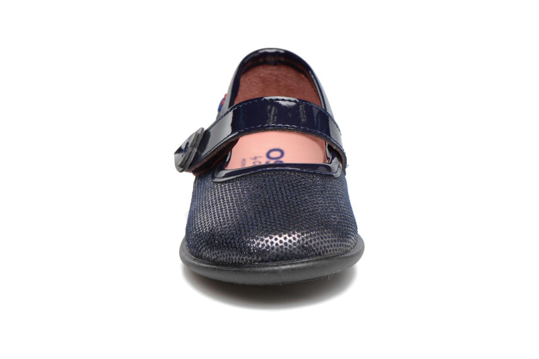 Ballerines Osito by Conguitos Lena Bleu vue portées chaussures