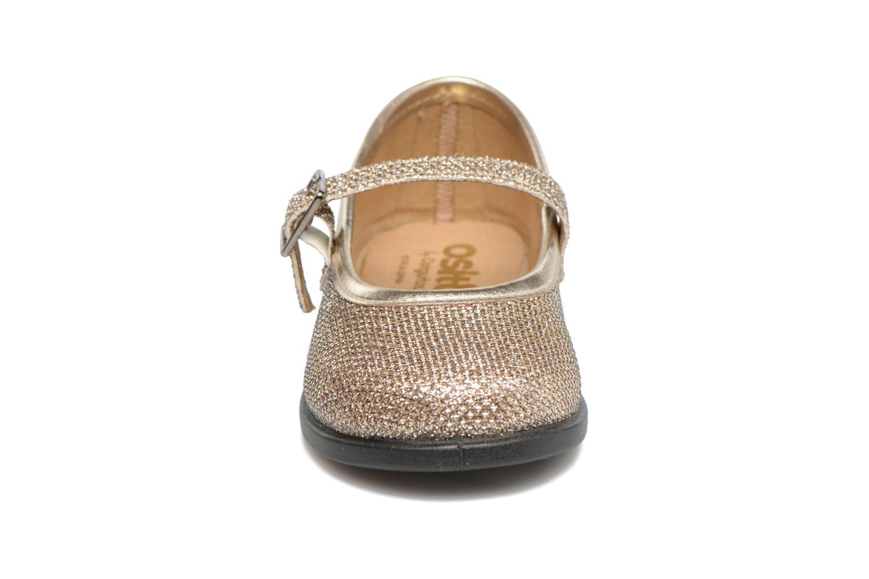 Ballerines Osito by Conguitos Eva Or et bronze vue portées chaussures